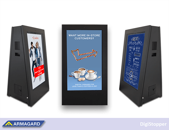 Battery Powered Digital Signage For Your Coffee Shop