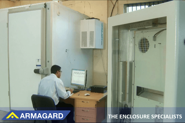 Armagard test chamber