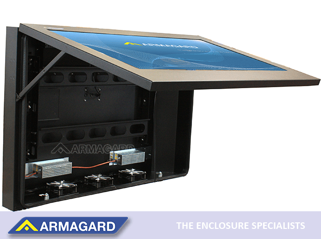Custom Armagard digital signage