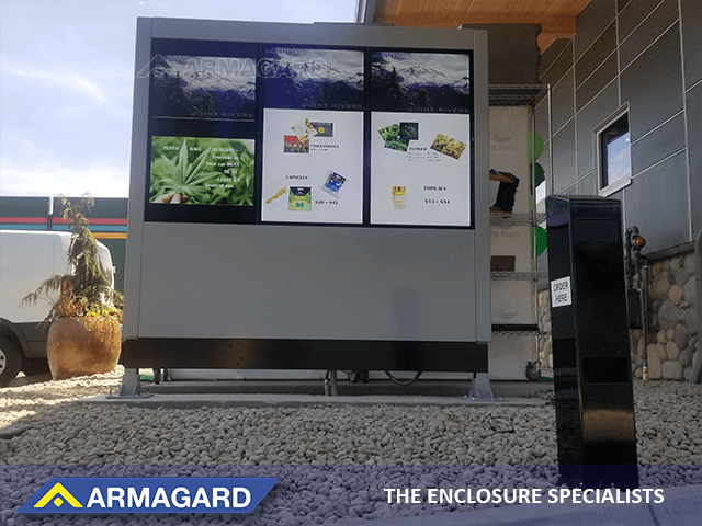 drive thru digital signage solution
