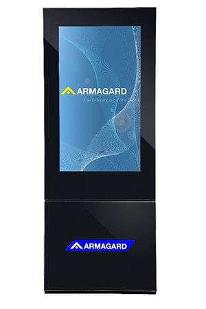 Armagard's 42 inch Monolith enclosure