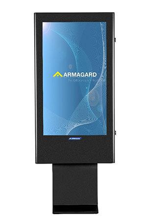 Armagard's 47 inch totem digital signage enclosure
