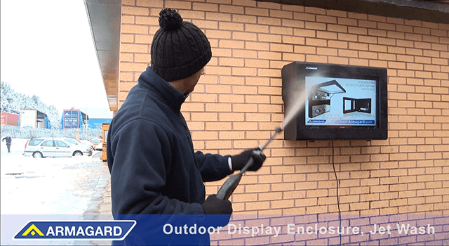 outdoor digital signage protection