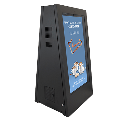 Battery-powered digital signage