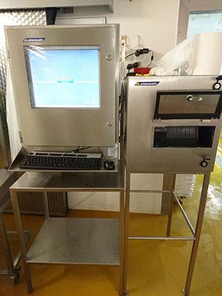 Armagard SENC-700 computer enclosure and SPRI-100 printer enclosure for Rungis Express