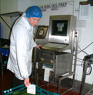 Northern foods computer enclosure unit at work