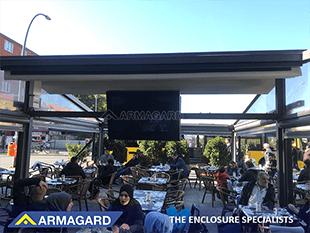 outdoor tv enclosure Armagard