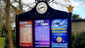 Paulton Park Triple screen Enclosures