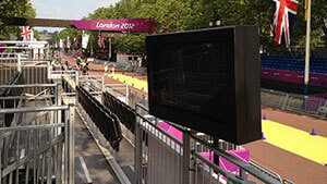 London Olympics Outdoor digital signage