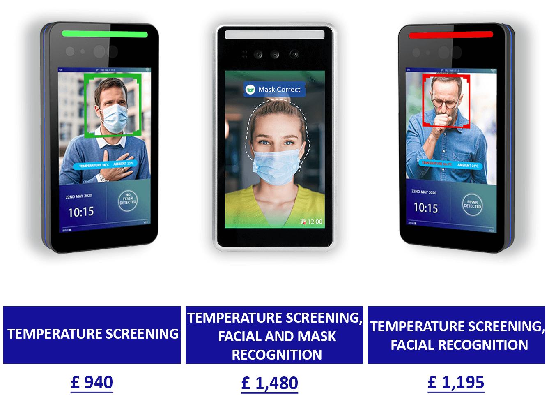 Fever Detection Kiosks range from Armagard