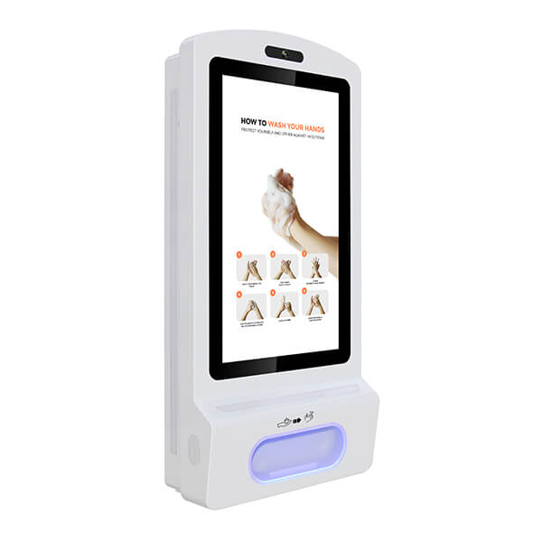 Right view of the Hand Sanitiser Digital Display