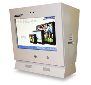 Digital signage station d'essence