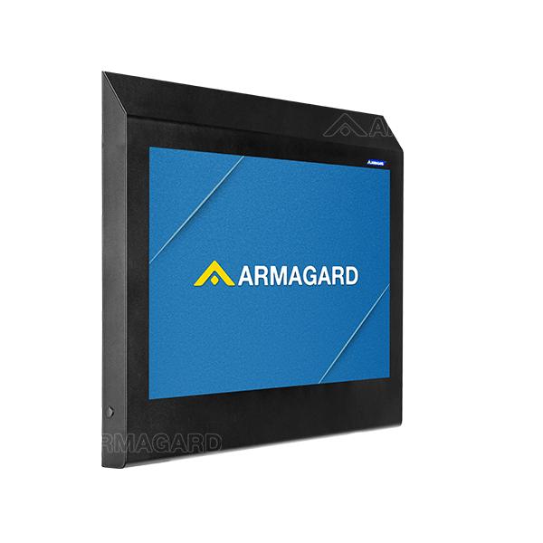 Armagard's robust anti-ligature TV cabinet