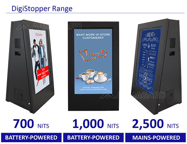 eStopper range Armagard
