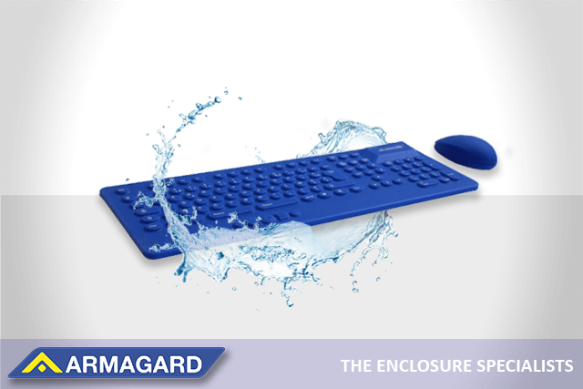 Washable Keyboard And Mouse with water splash