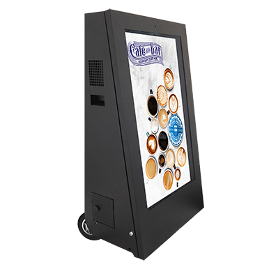 Mobile digital signage displays