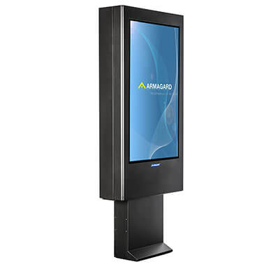 Outdoor Digital Signage | Pre-Sale Totem Enclosure
