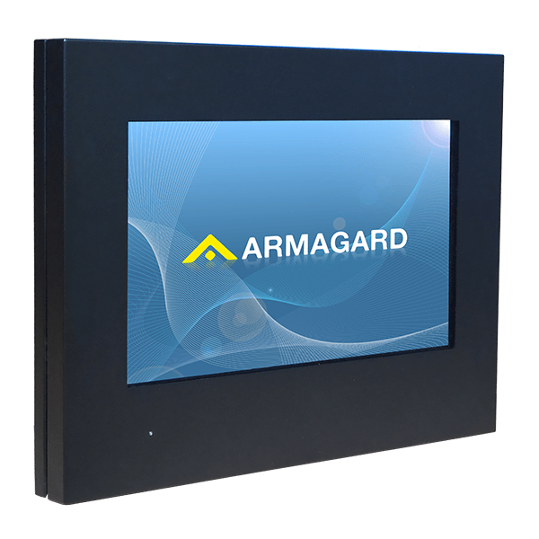 Slimline, Wall-Mounted Outdoor Digital Display Cabinet