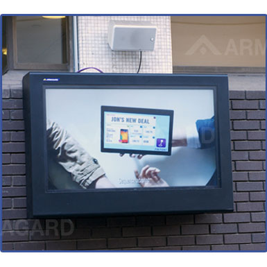 Outdoor TV Enclosure at ITV Building | PDS Series