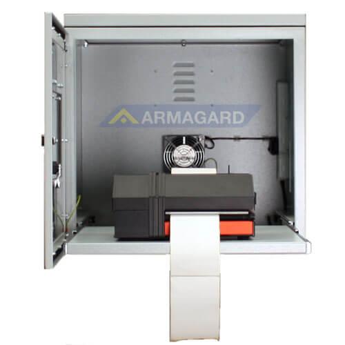 Mild Steel Printer Enclosure | Dustproof | Armagard Ltd