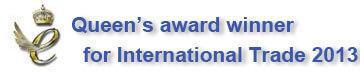 Queens award Banner