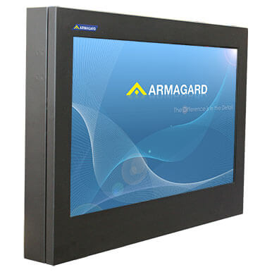 Slimline Professional Outdoor LED Display Enclosure