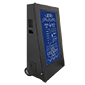 Wheeled digital advertising display | product range