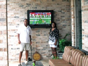 Ordinaire LCD TV Enclosure Used For Outdoor TV Viewing