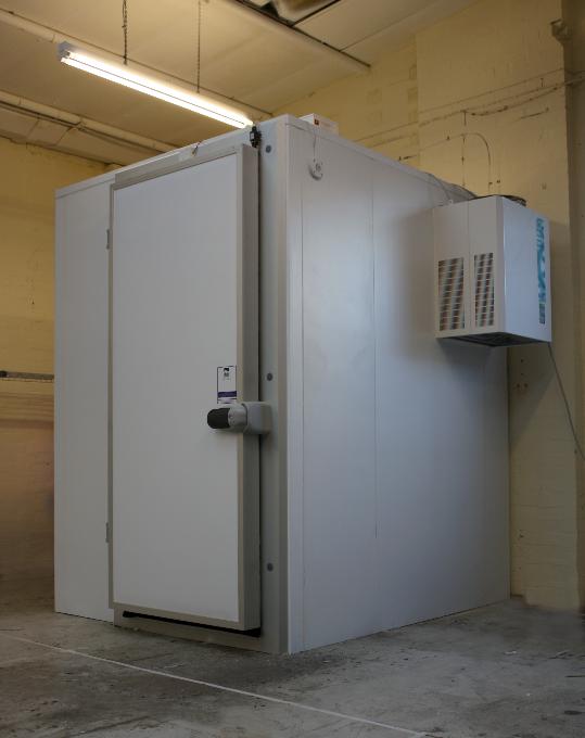 Armagard's environmental testing chamber.