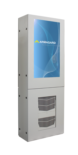 Air conditioned digital signage