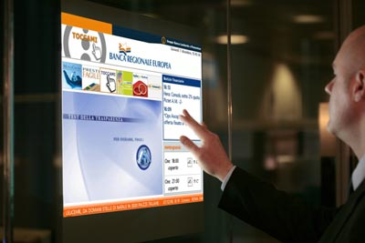 Touchscreen Projection touchfoil
