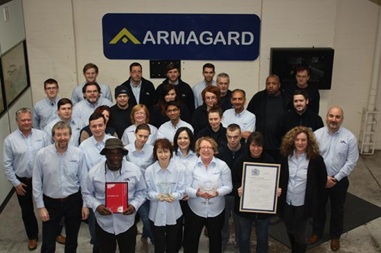 Armagard team and awards