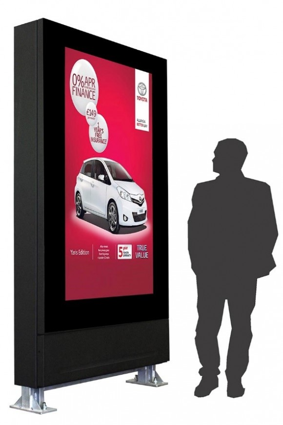 "72"" Outdoor Digital Signage"