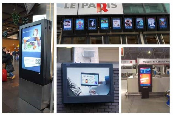 Digital signage enclosure