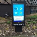Sunlight readable digital signage