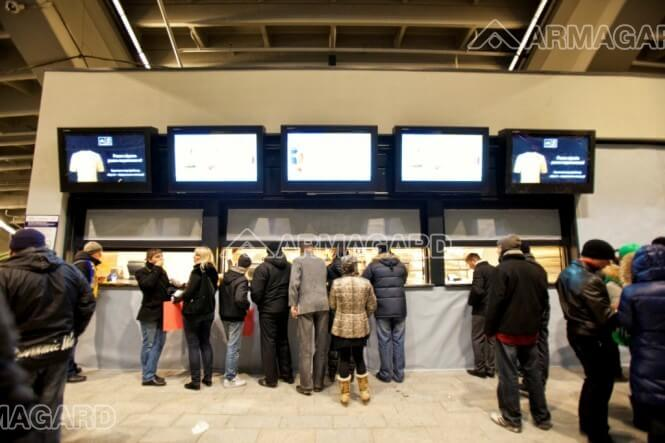 Armagard's Digital signage at Euro 2012