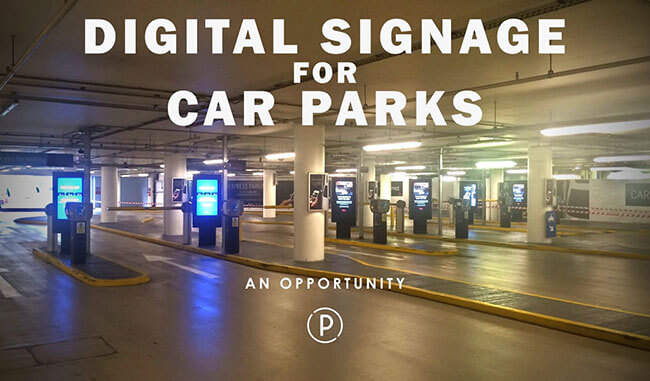 Digital signage an opportunity for advertising