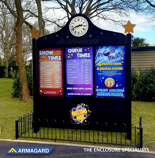 Benefits of Digital Signage for Theme Parks