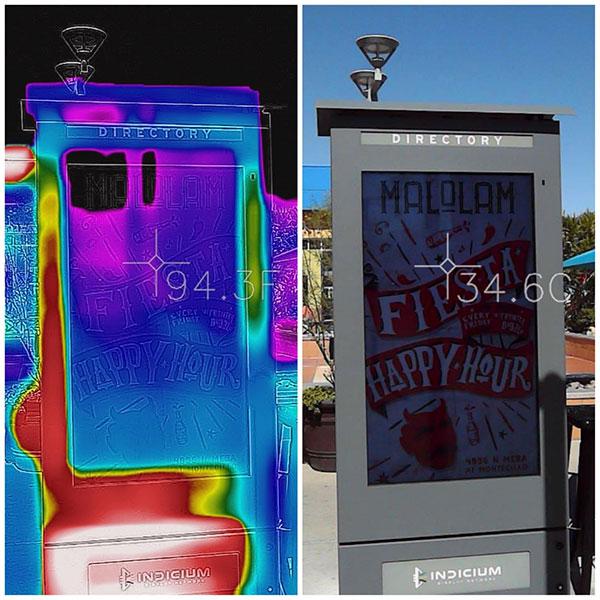 Armagard LCD Enclosures Keeping Screens Cool