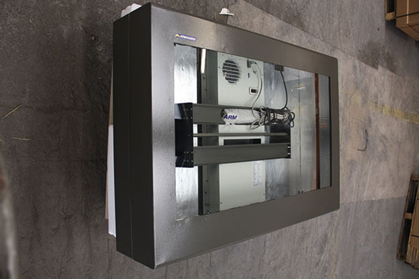 An Armagard Enclosure Complete with Air Conditioning