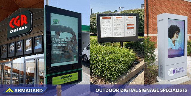 Outdoor Digital Signage Enclosures