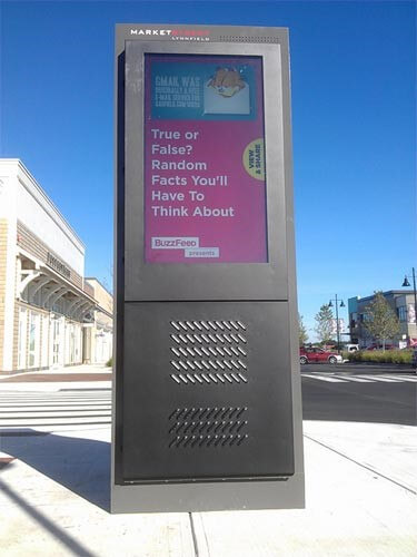 Retail Digital Signage Outdoors