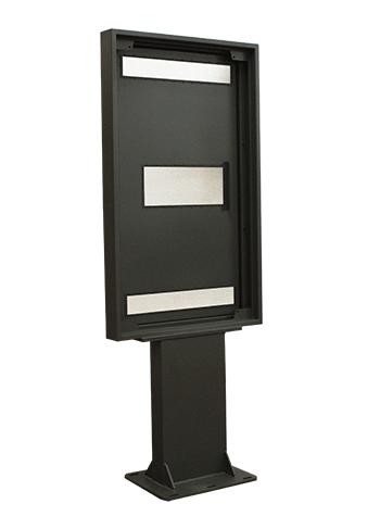 Samsung QSR Totem Enclosure