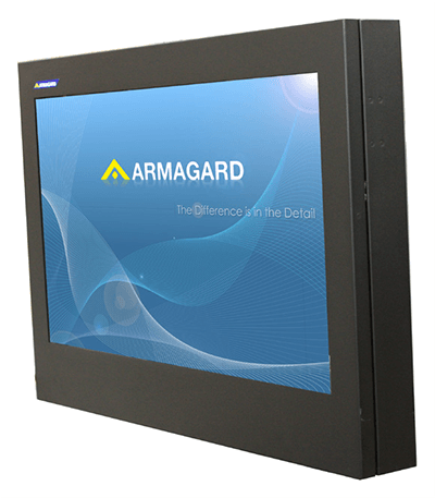 slimline LED display enclosure