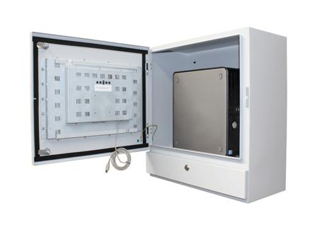 industrial pc enclosure internal cabling