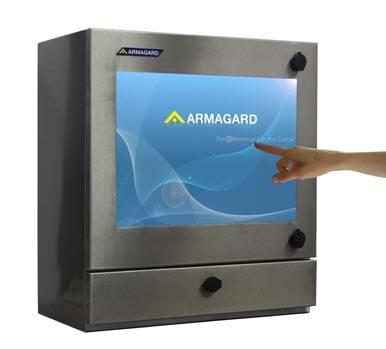 Armagard touchscreen Enclosures