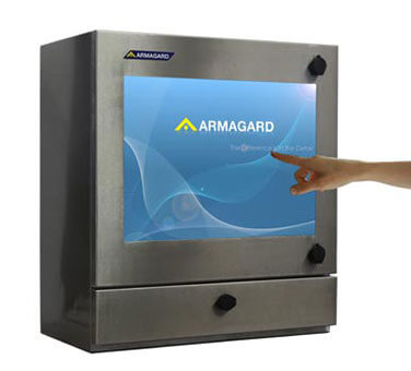 Armagard's rugged touch screen the SENC-450